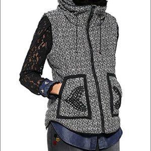 Woman Woven Short Vest by Desigual MAKE AN OFFER